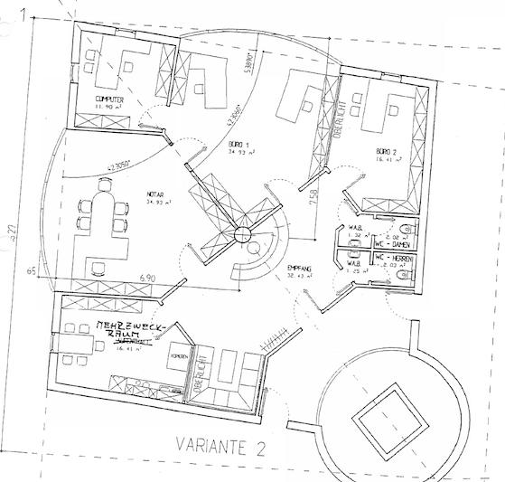 Grundriss | Büro | Praxis | Gewerbeimmobilie | 97 | Lörrach
